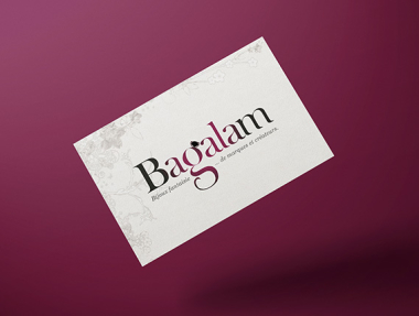 Bagalam, web design de l'e-boutique
