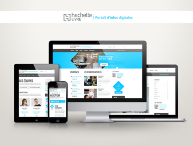 Hachette – the digital information portal