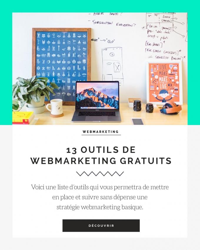 13 outils de webmarketing gratuits
