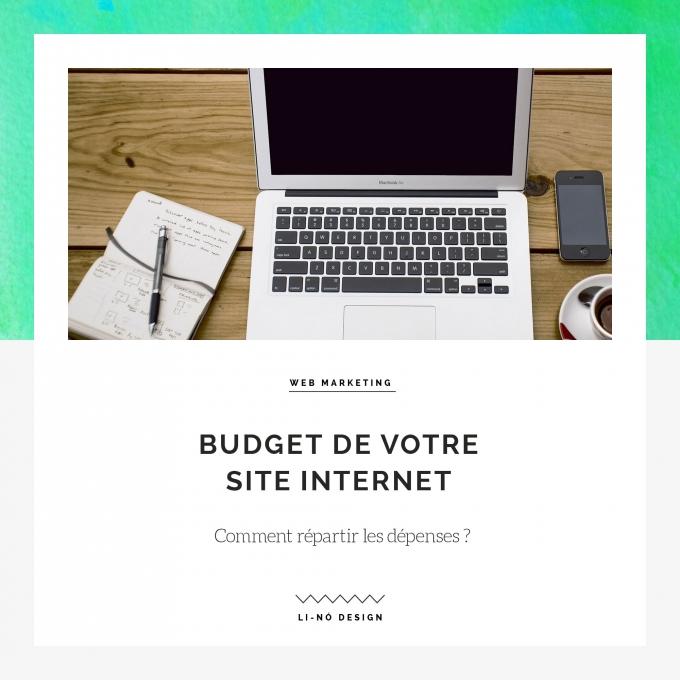 Budget de votre site Internet