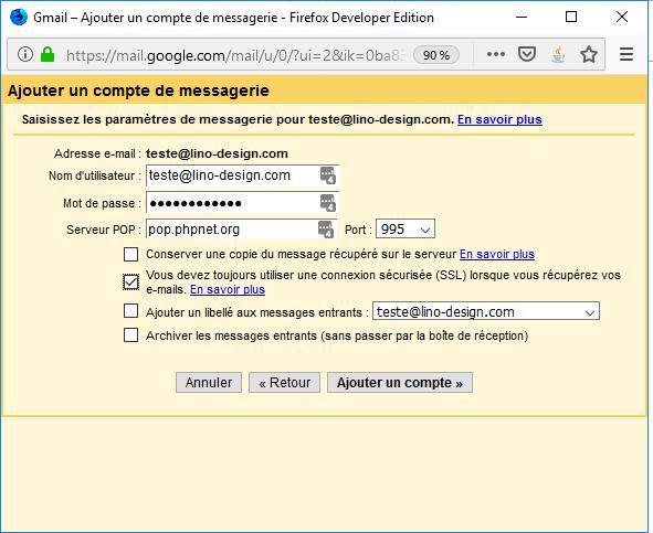 importation Gmail 3
