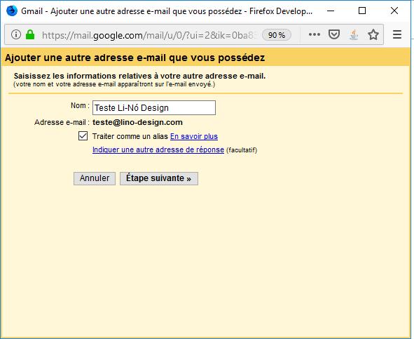 Importation Gmail 5