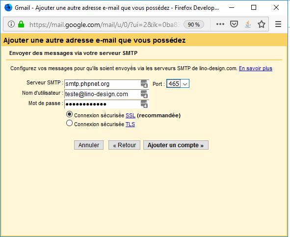 Importation Gmail 6