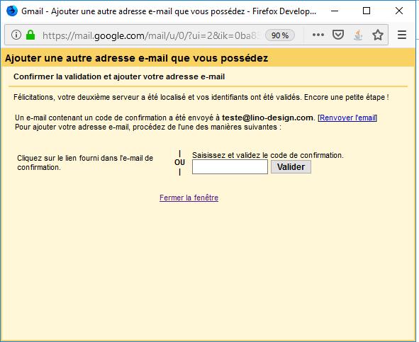 Importation Gmail 7