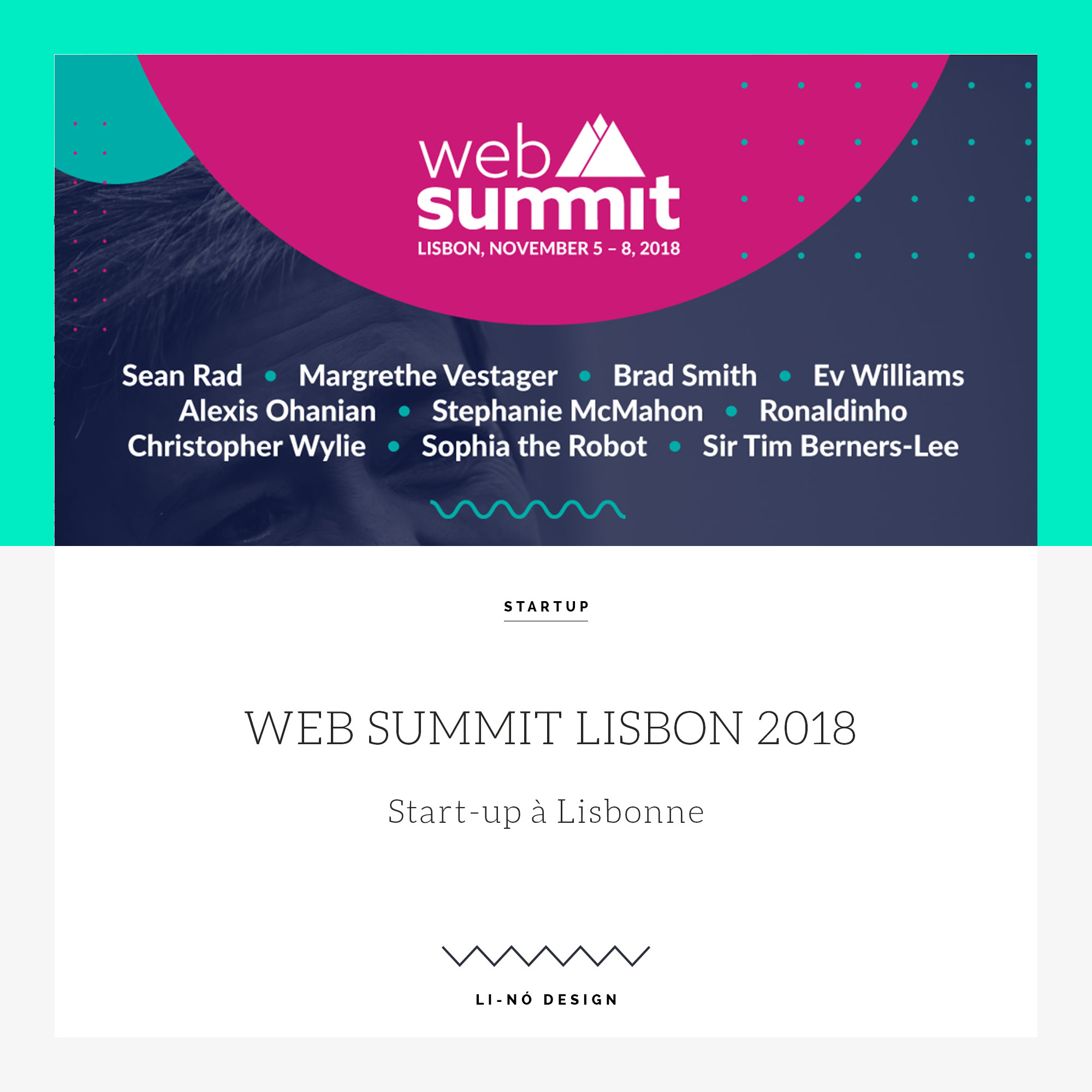 web summit lisbonne 2018