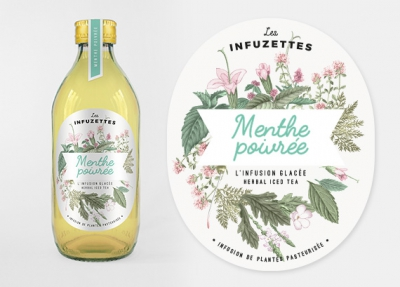 Les Infuzettes, Identidade visual de produtos