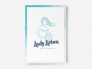 Logo Design Lady Lisboa
