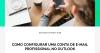 Como configurar uma conta de e-mail profissional no Outlook