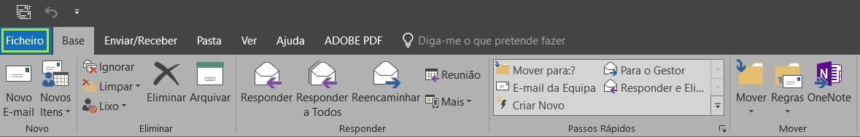 e-mail profissional com o Outlook