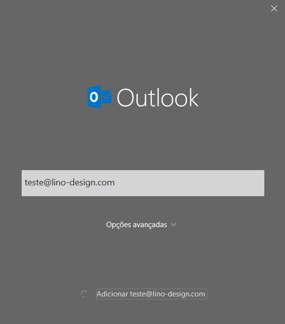 criar email profissional com outlook