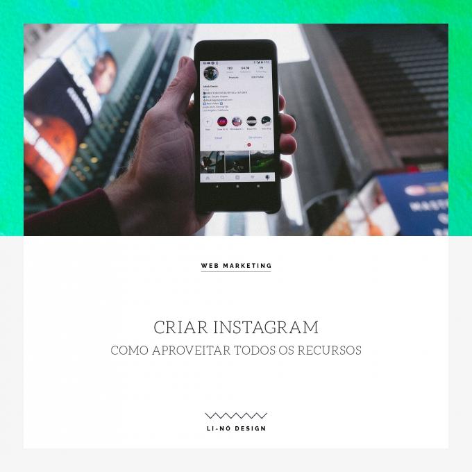 criar instagram