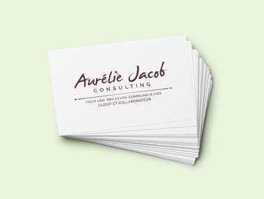 Aurélie Jacob Logotype