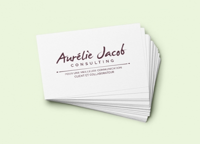 Aurélie Jacob Logotype