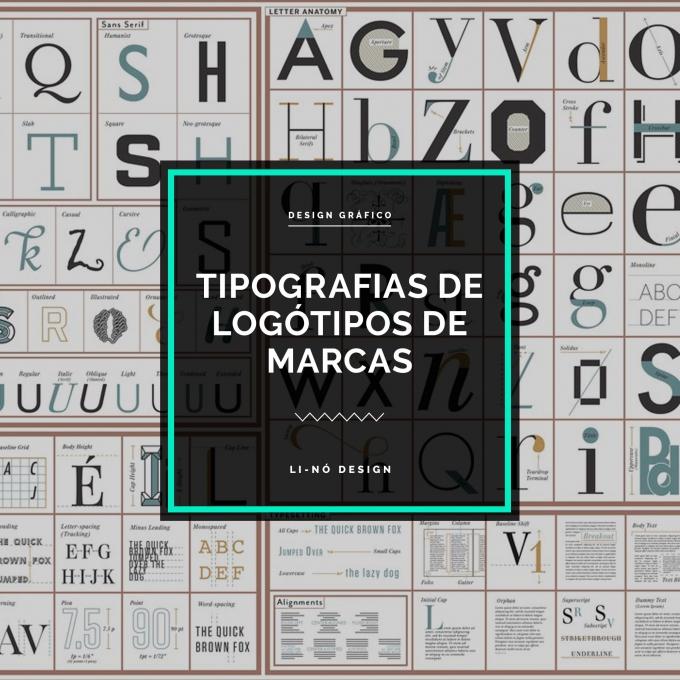 Tipografias de logótipos