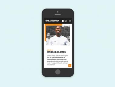 UrbanSoccer – Website