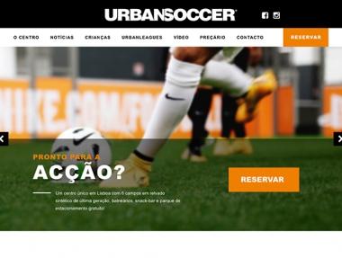 UrbanSoccer – Site Web
