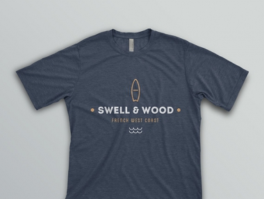 Visual Identity and Logo – Swell & Wood