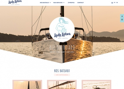 Lady Lisboa – Website