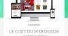 Le coût du web design