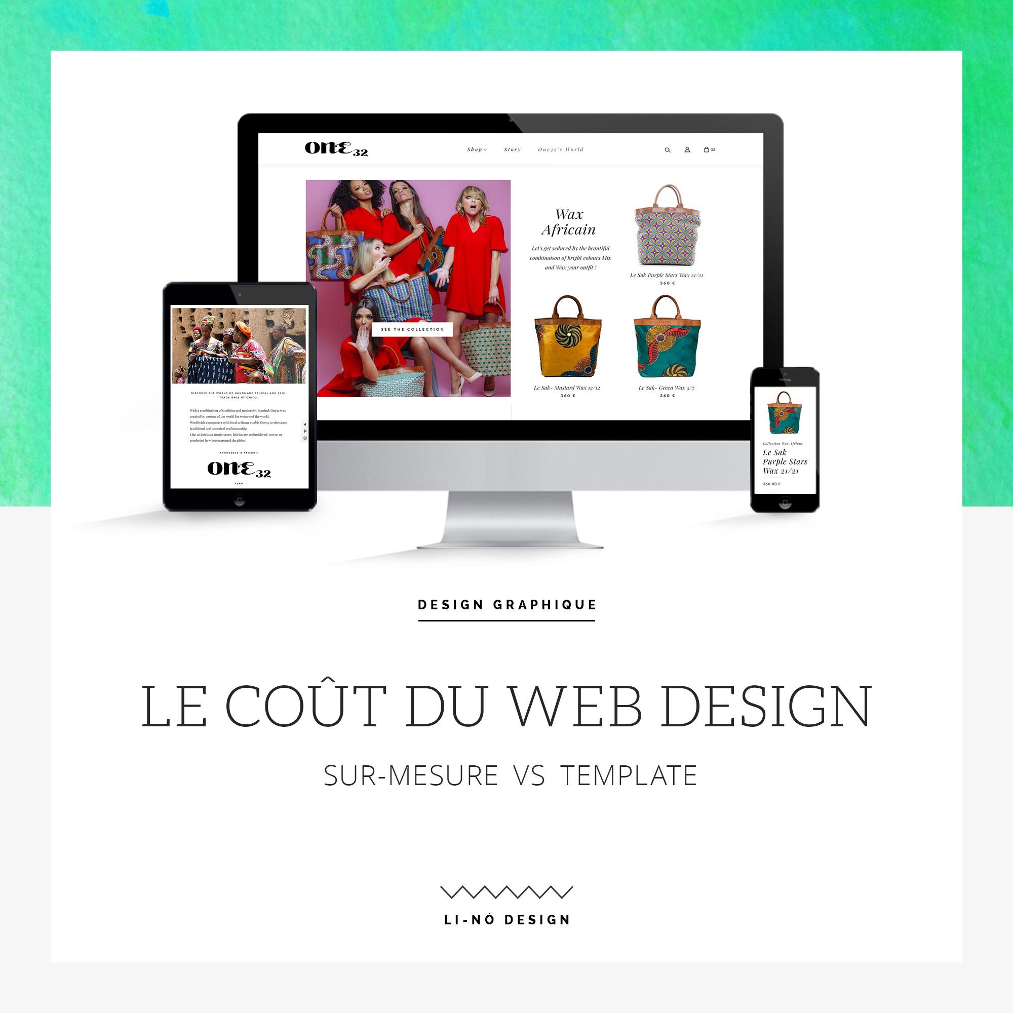 Le coût du web design - Li-Nó Design