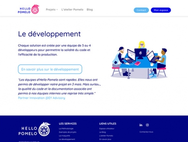 Hello Pomelo – Site Web