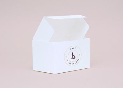 b Café & Pastelaria – Logo