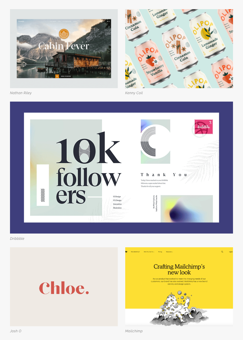 Les 5 tendances en design graphique pour la rentrée 2019 Li-Nó Design - Police Old Style