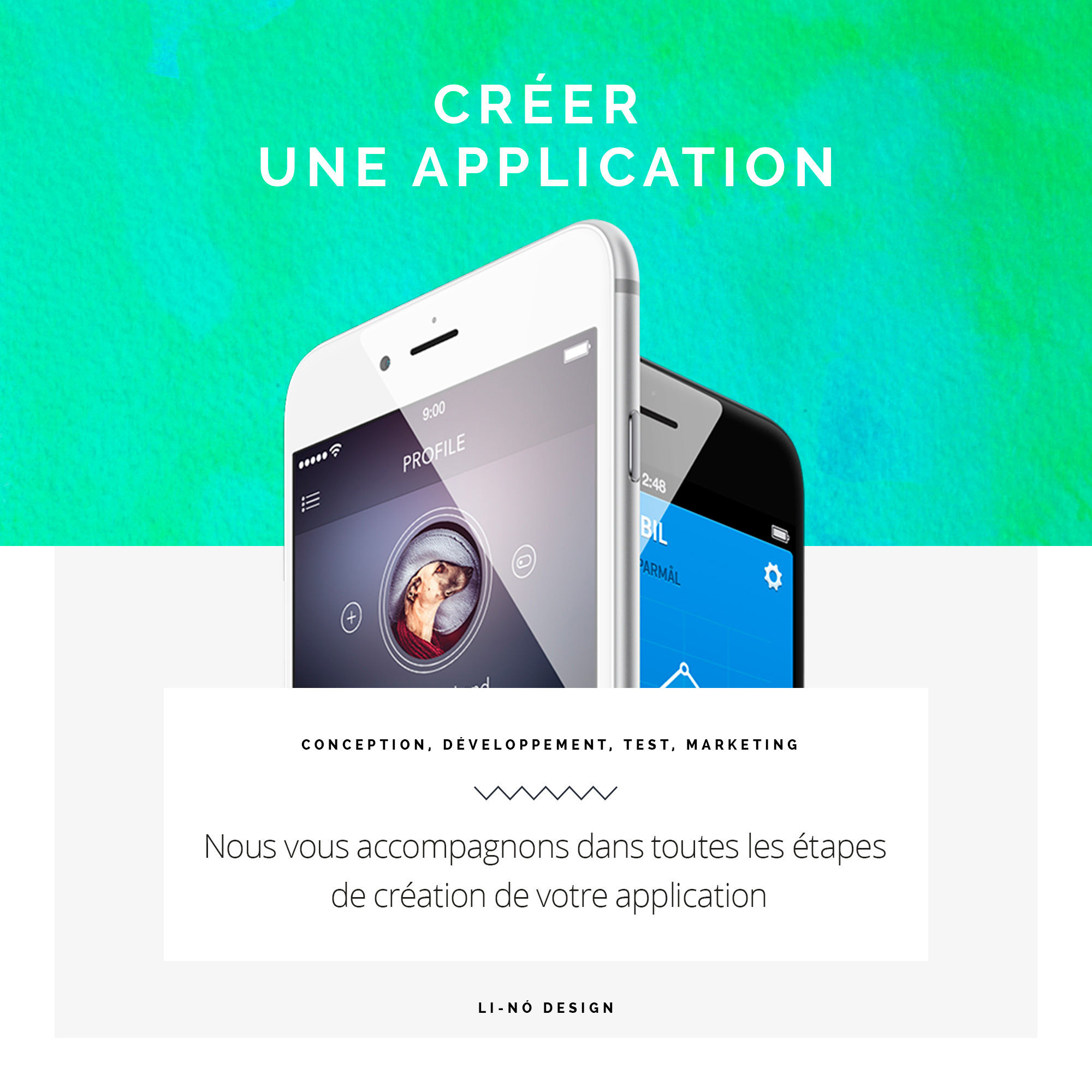 creer-une application web lino-design