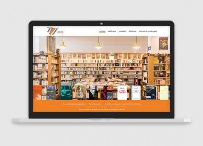 Nouvelle librairie Française – Site vitrine et e-commerce