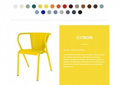 Ma chaise Adico – Site e-commerce